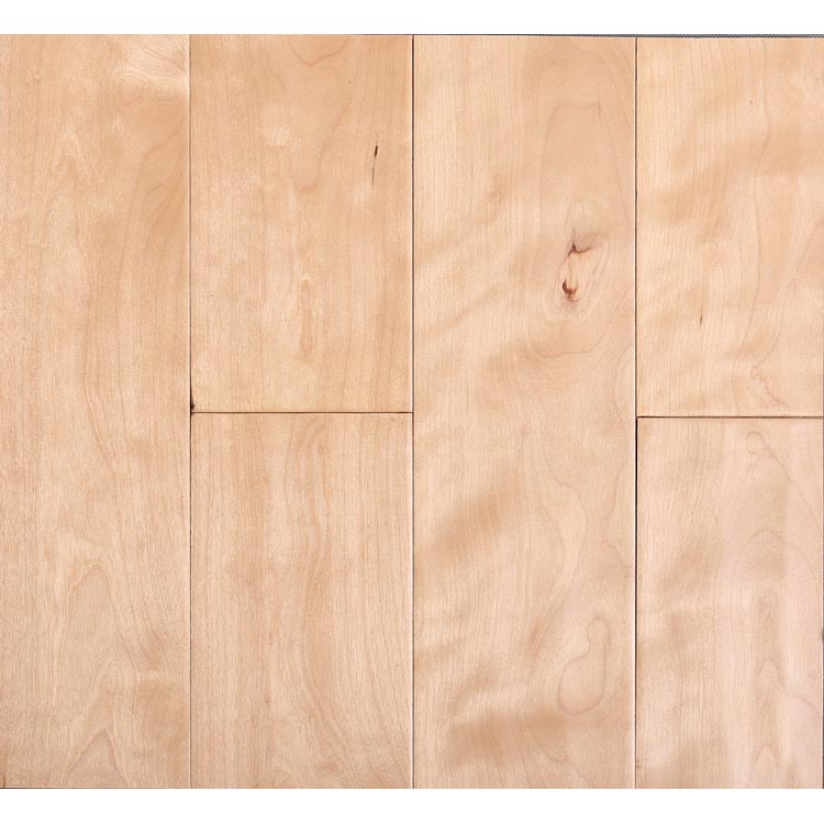 S25 - Birch wood solid flooring
