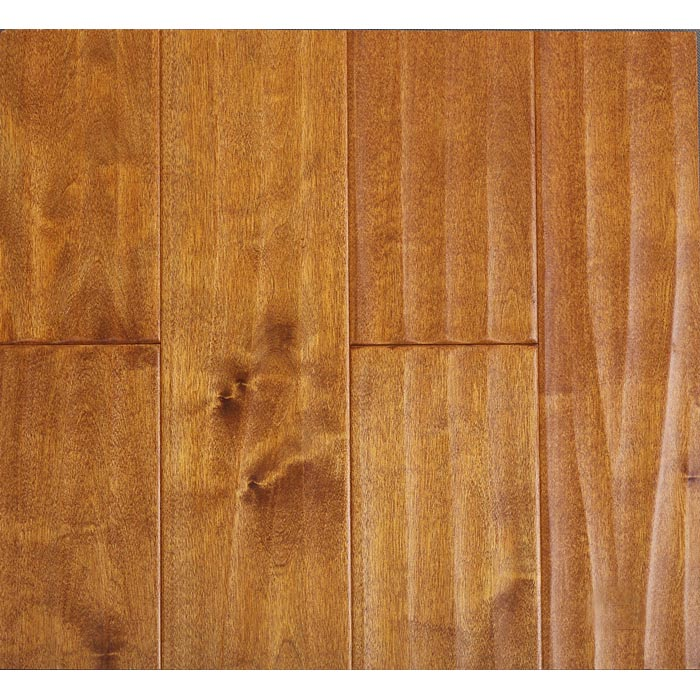 S6 - Birch wood solid flooring